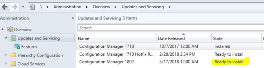 SCCM (System Center Configuration Manager) 1802 Step by Step Upgrade Guide 6