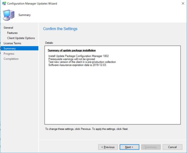 SCCM (System Center Configuration Manager) 1802 Step by Step Upgrade Guide 11