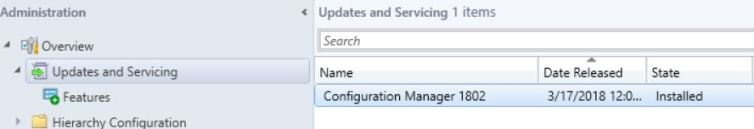 SCCM (System Center Configuration Manager) 1802 Step by Step Upgrade Guide 13