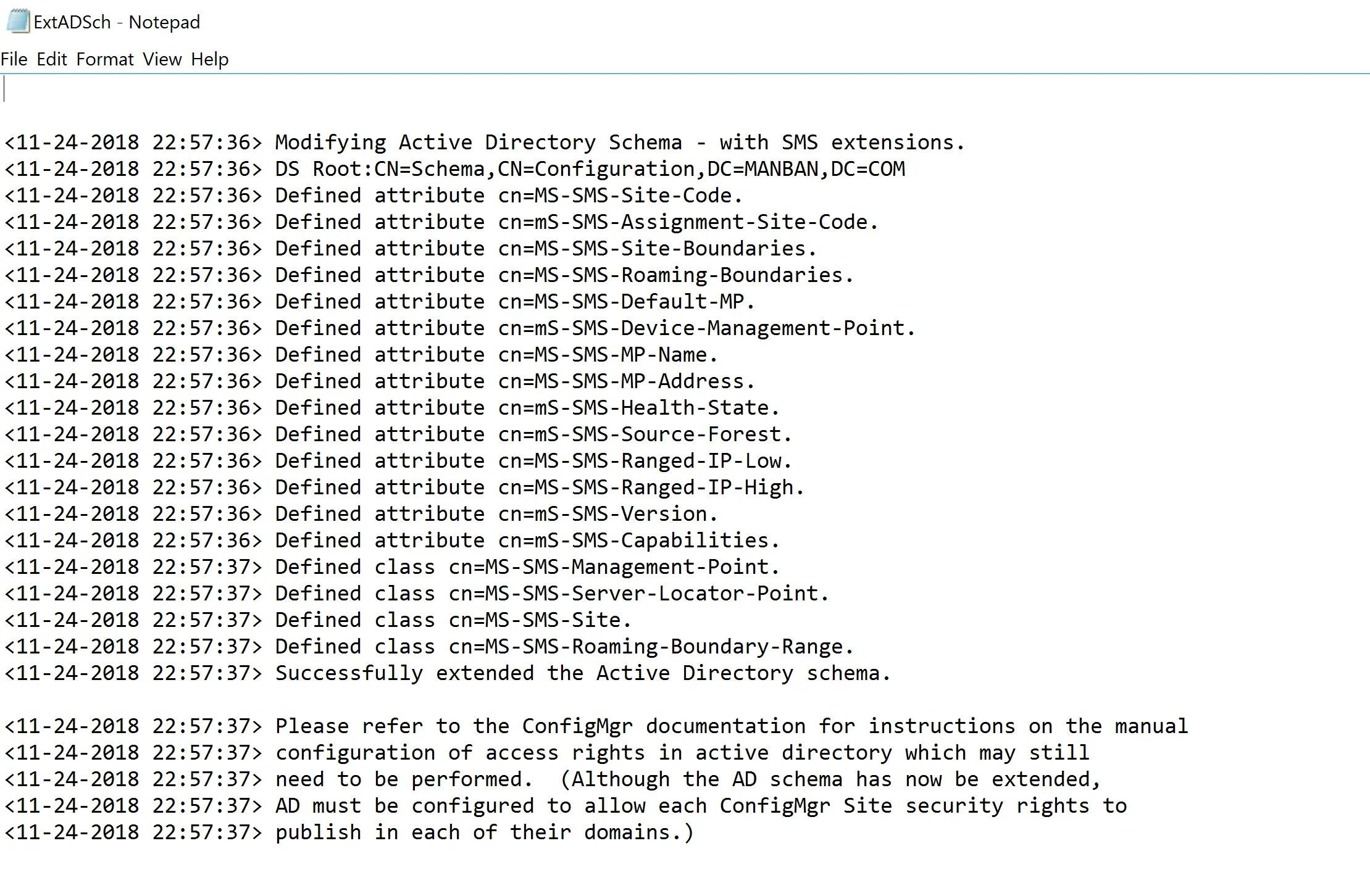 Preparing Active Directory for SCCM 12