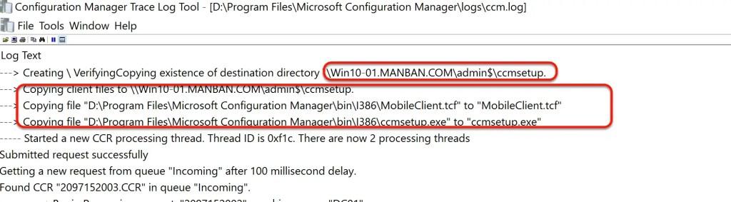 SCCM Automatic Client Push Installation 10