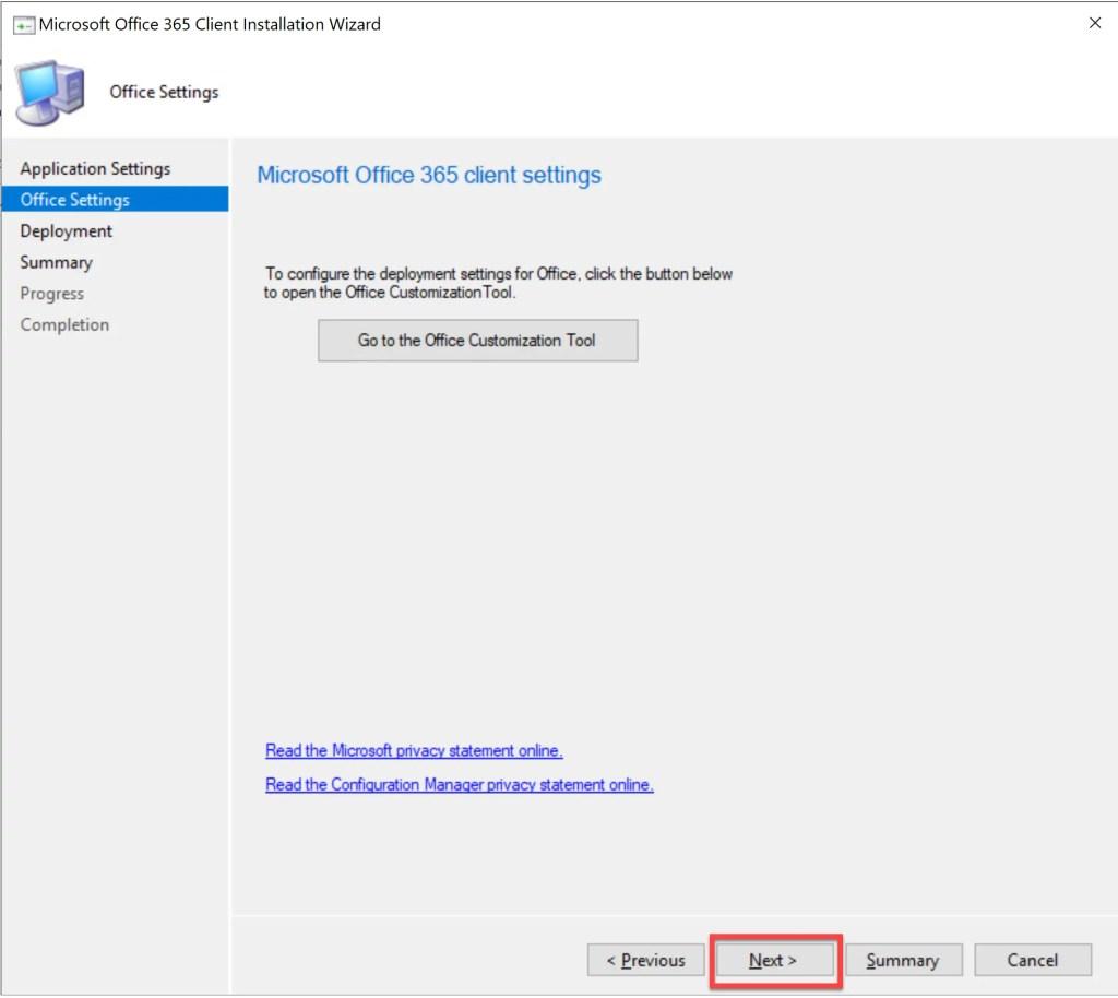 Deploy Office 365 through SCCM 13