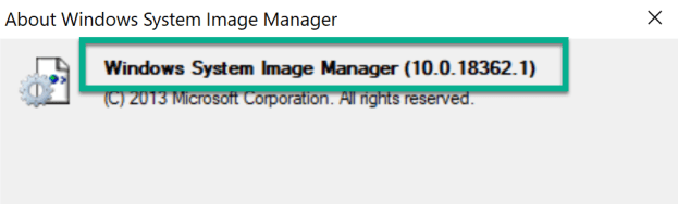ADK 1903 Unable to generate a catalog 2