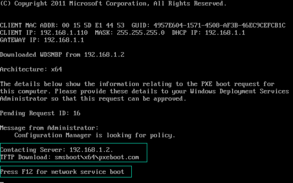 Troubleshoot PXE Boot issues 10