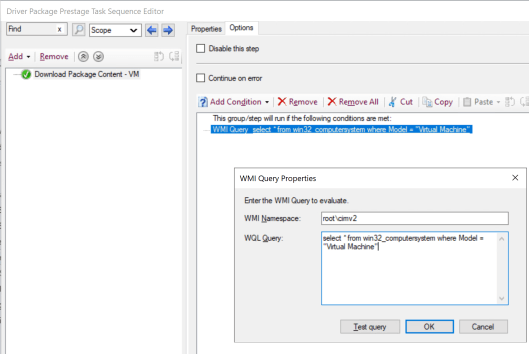 How to deploy drivers using Setupconfig.ini for feature update through SCCM 3