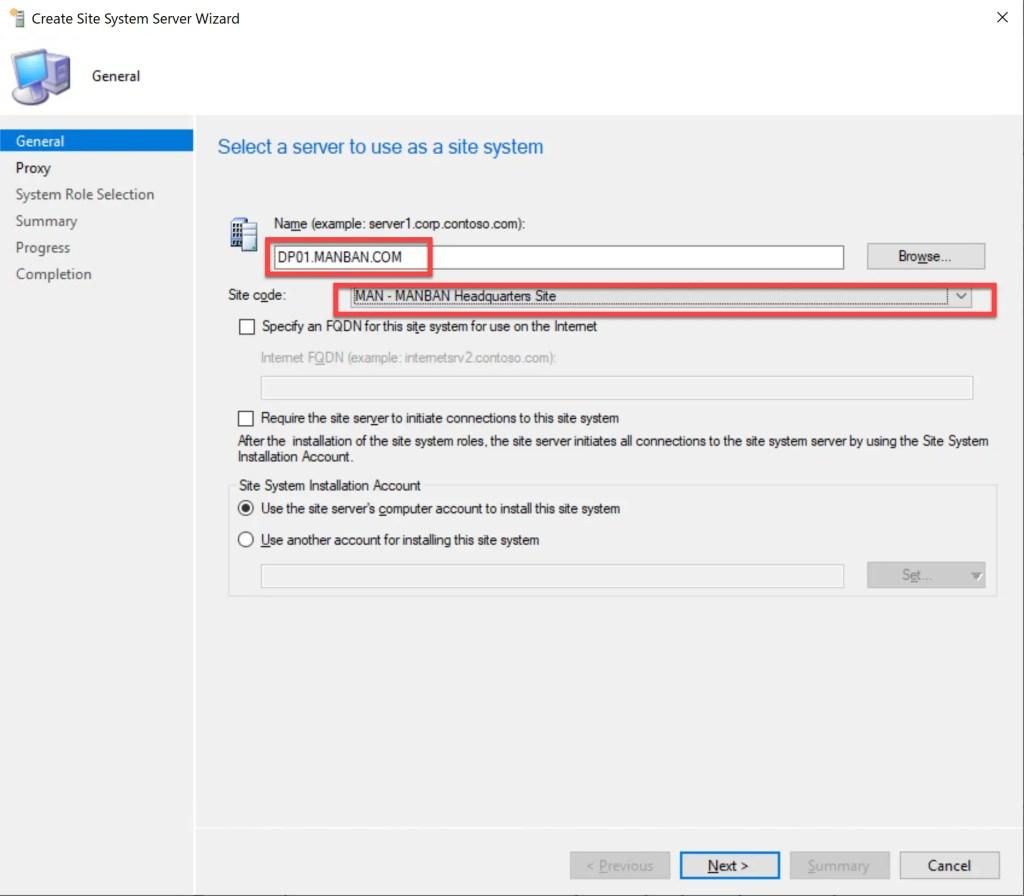 Install Configure SCCM Distribution Point 5
