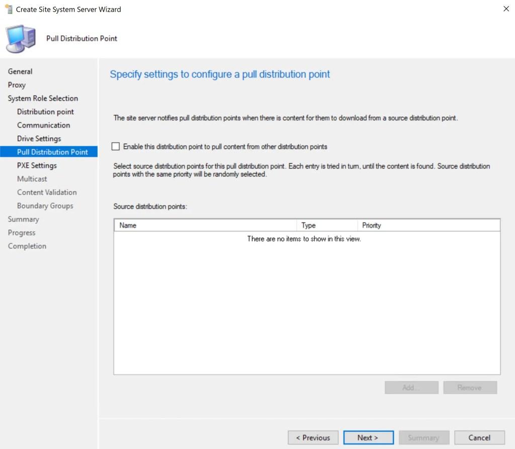 Install Configure SCCM Distribution Point 11