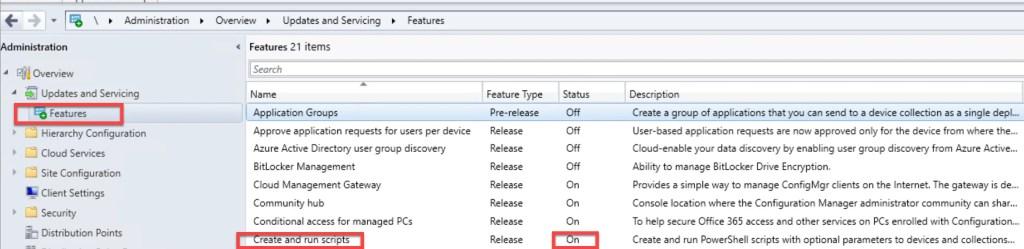 Create and run PowerShell Scripts through SCCM 1