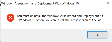 How to update Windows ADK 2004 on SCCM Server 1