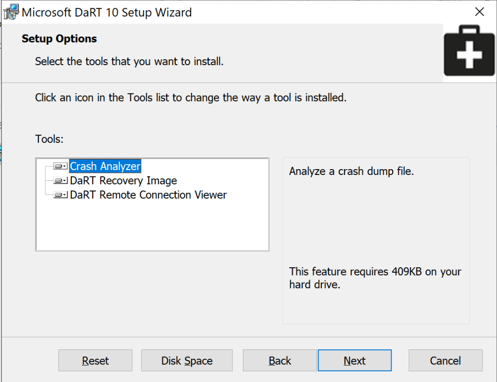 How to integrate MsDart with SCCM Boot Image 3