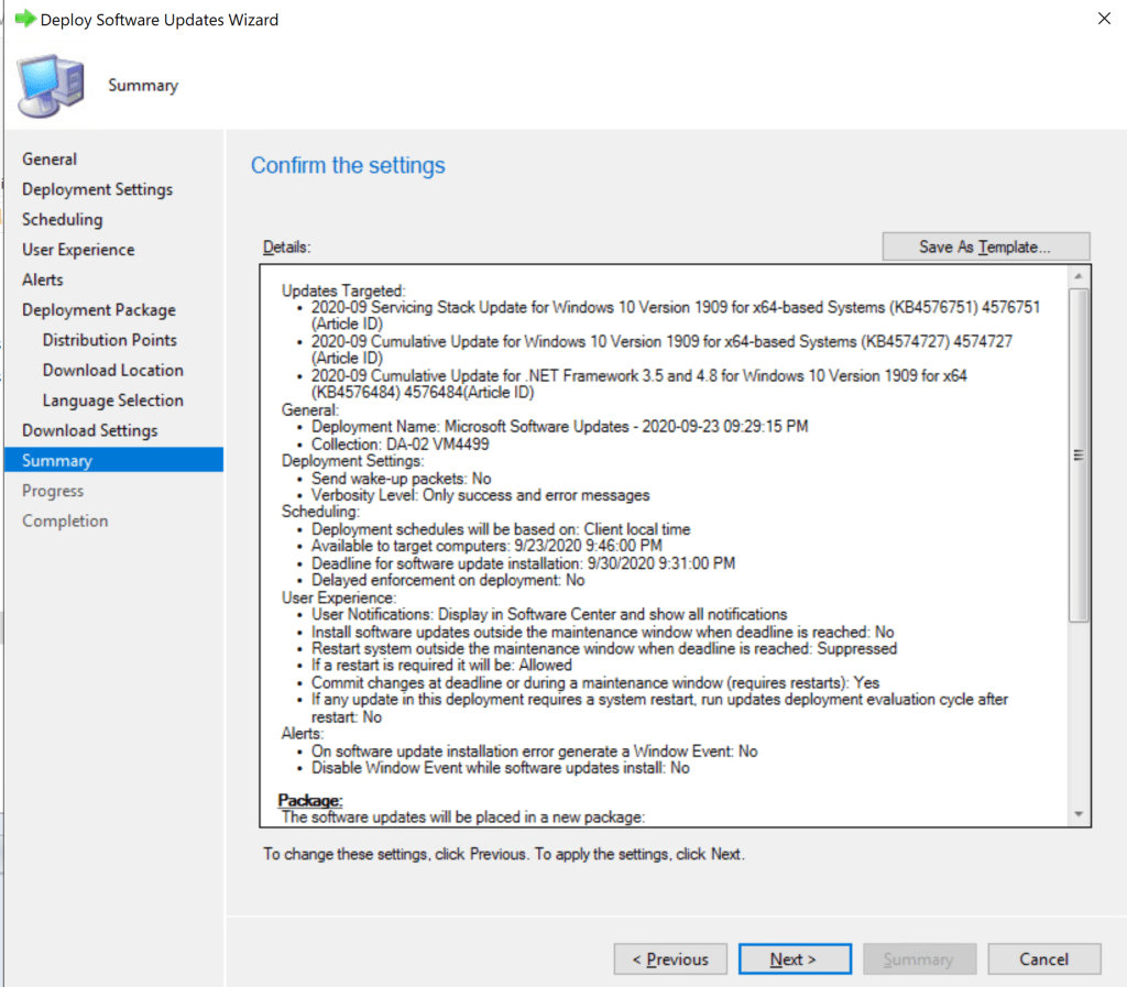 How to deploy Software Update Patches using SCCM 19