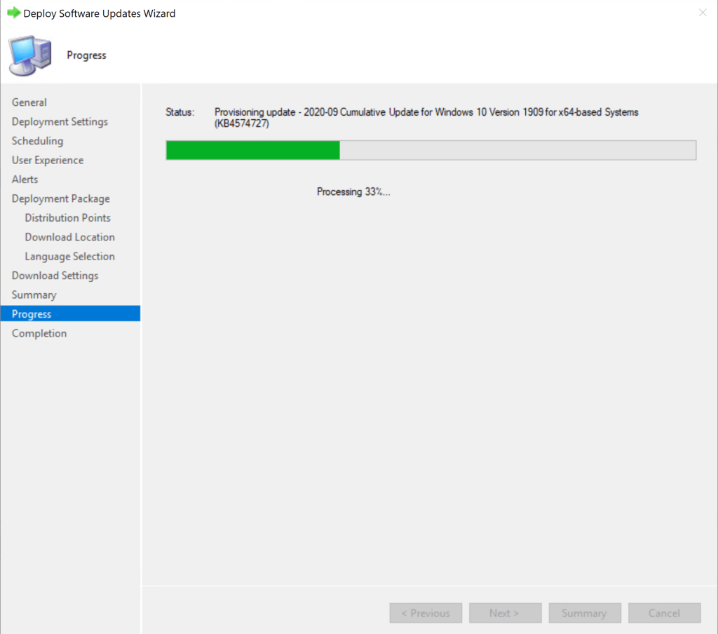 How to deploy Software Update Patches using SCCM 20