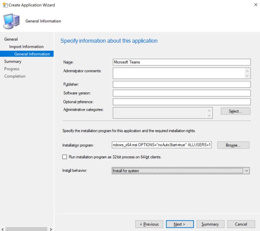 How to Deploy Microsoft Teams through SCCM 3