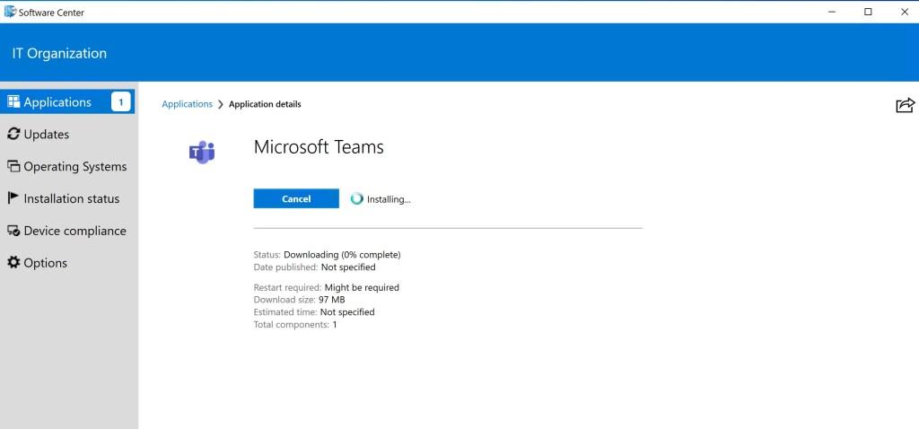 How to Deploy Microsoft Teams through SCCM 6