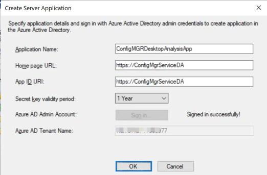 Set up Desktop Analytics to integrate with SCCM 18