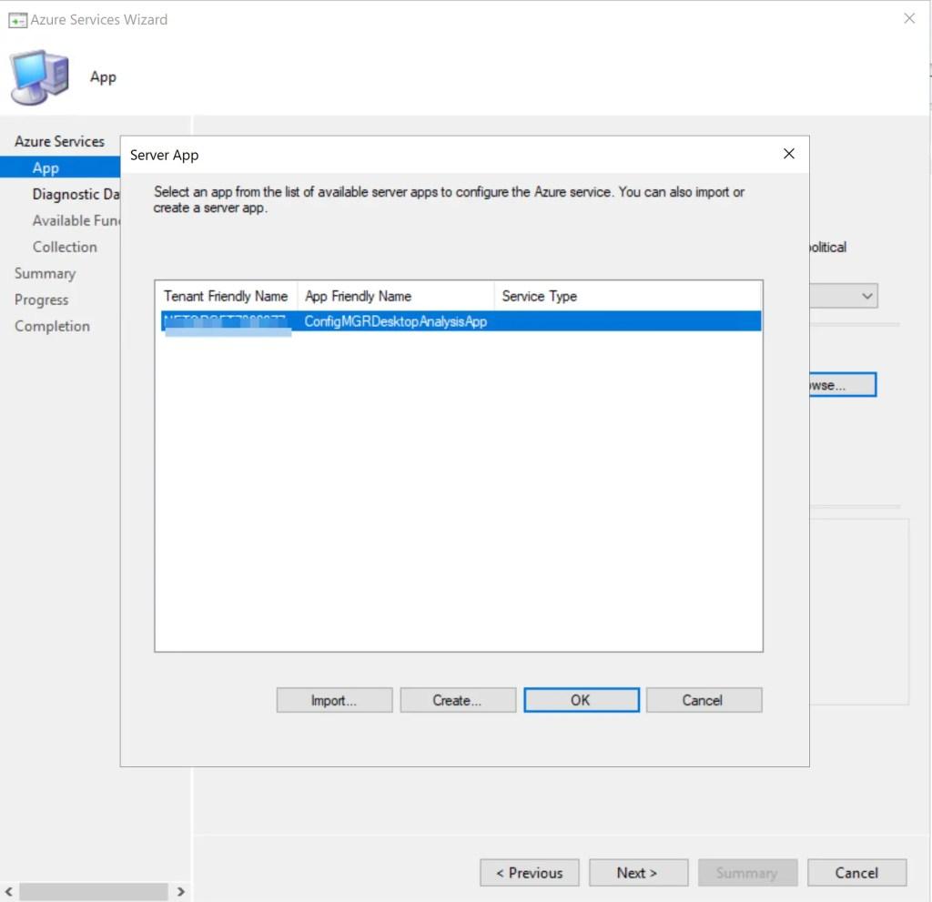 Set up Desktop Analytics to integrate with SCCM 19