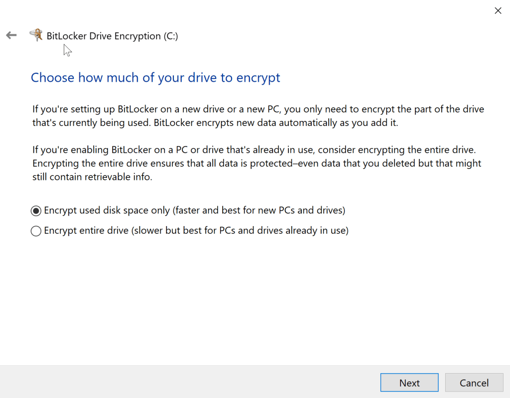 How to Turn on BitLocker Encryption without TPM 8