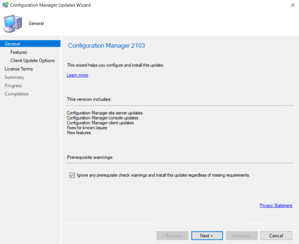 SCCM 2103 Step by Step Upgrade Guide 13