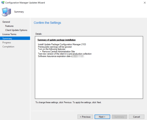 SCCM 2103 Step by Step Upgrade Guide 17