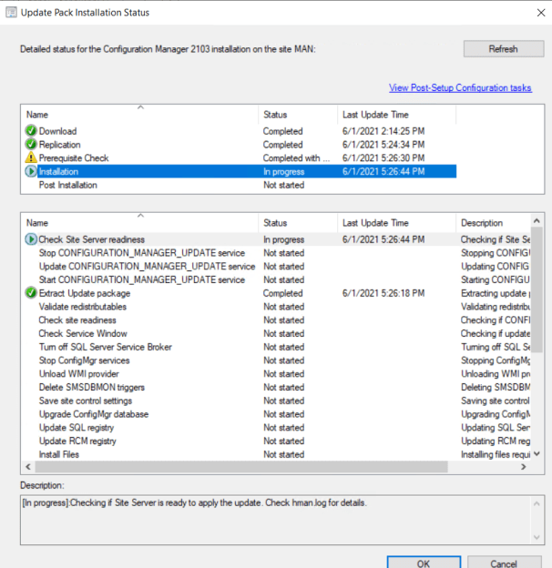 SCCM 2103 Step by Step Upgrade Guide 19