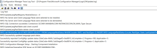 SCCM 2103 Step by Step Upgrade Guide 20