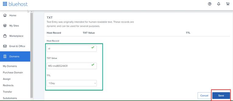 Add Custom domain name to Azure AD 2