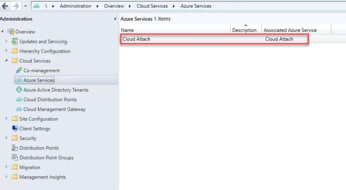 Azure Services Cloud Attach