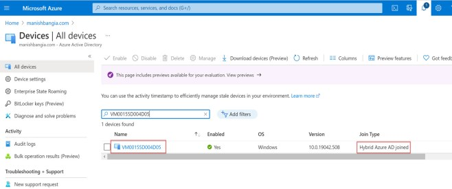 Enable automatic enrollment in Intune 5