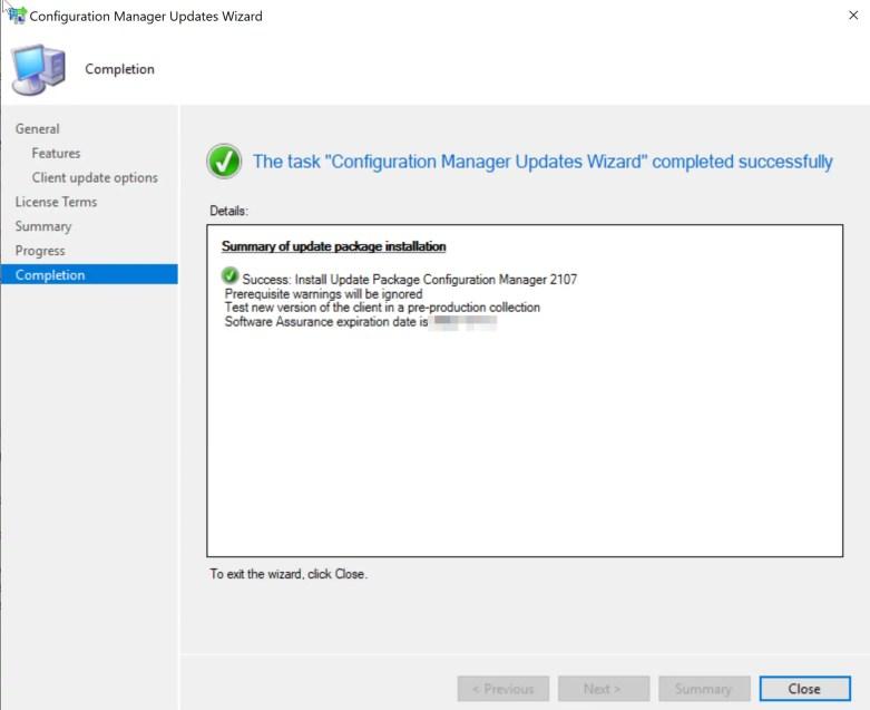 SCCM 2107 – Step by step upgrade guide for ConfigMgr 2107 13