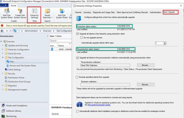 SCCM 2107 – Step by step upgrade guide for ConfigMgr 2107 19
