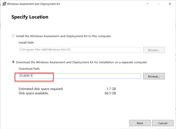 Windows Assessment and Deployment Kit