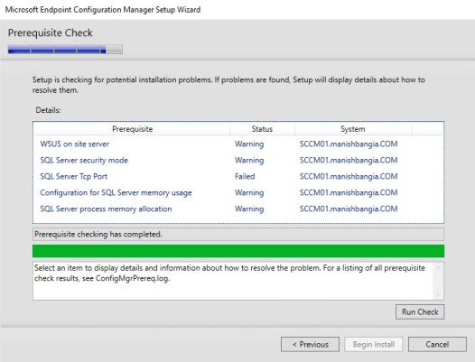 SQL Server Tcp Port Failed