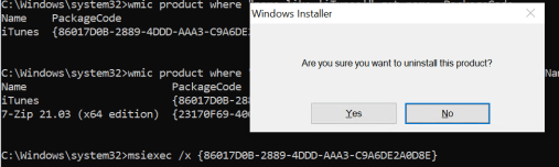 How to Uninstall Package using command line 6