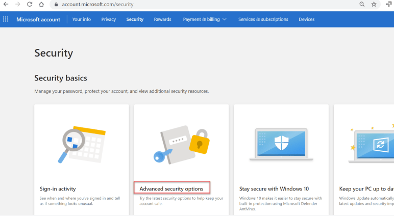How to setup passwordless Microsoft account for your personal ID 3