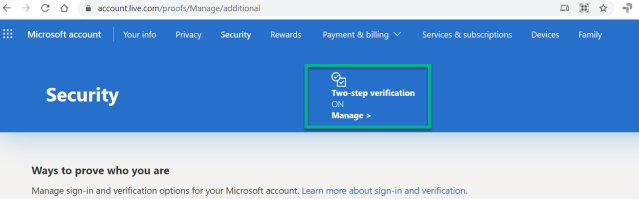 How to setup passwordless Microsoft account for your personal ID 7