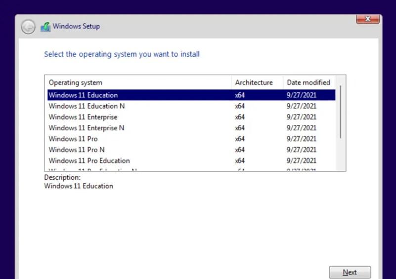 Windows 11 Business Edition