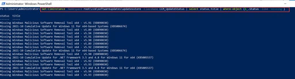softwareupdates\updatesstore