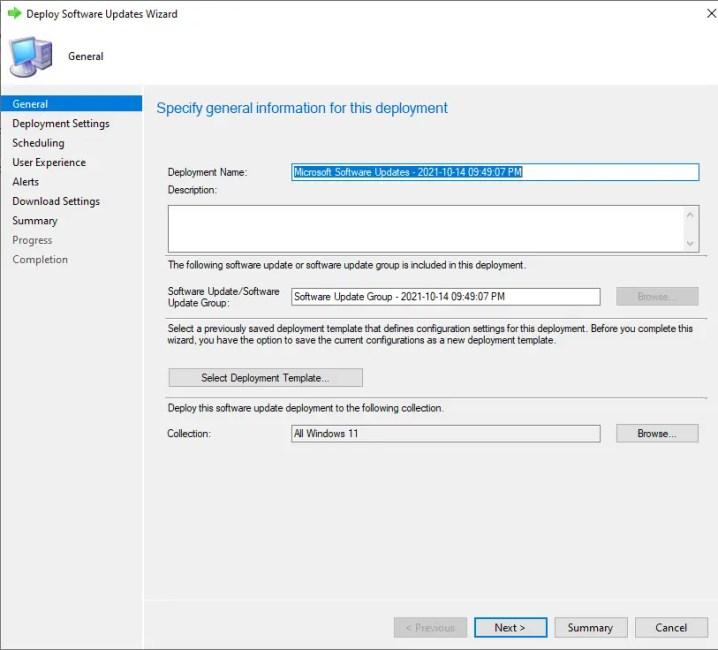 Deploy Windows 11 Software Update using SCCM 7