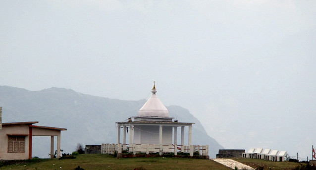 The Nanda Devi Temple