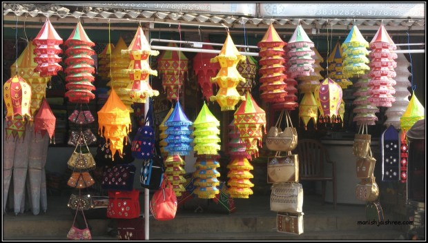 Applique Lamps in Orissa