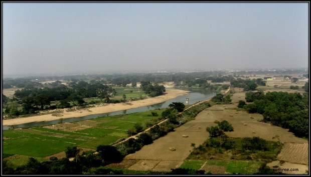 This river turned red in Kaliga war