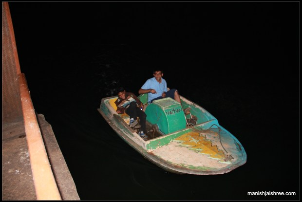 Our Pedal-Boat
