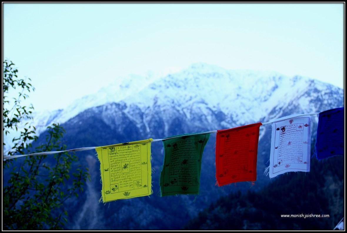 Lung-Ta: Horizontal Buddhist Prayer Flags