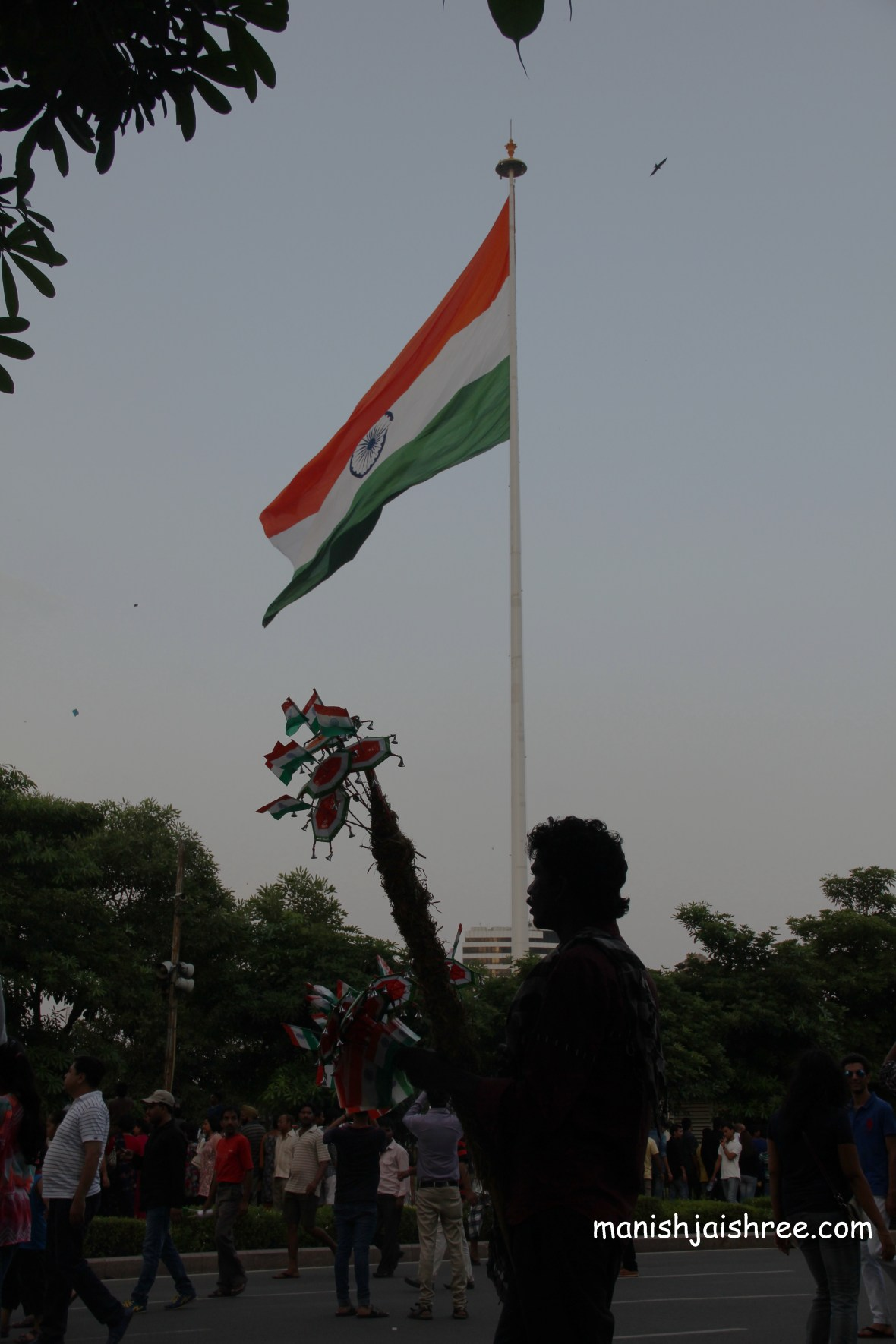 Raahgiri on Independance Day at CP, New Delhi
