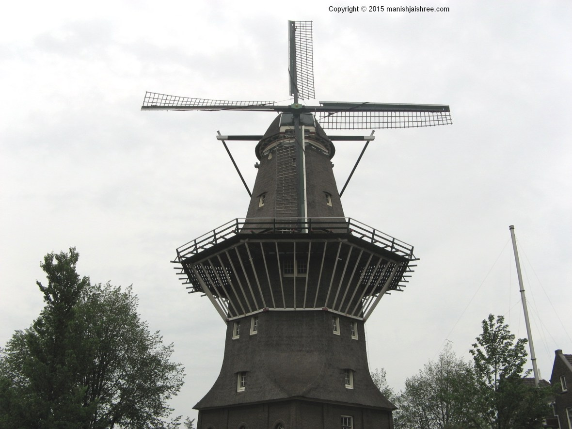 The windmill, Amsterdam