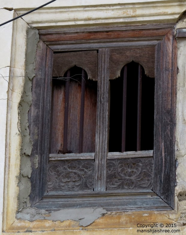 An old Window, Shravanabelagola
