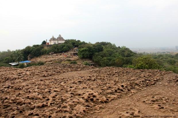 The laterite rocks of Udayagiri Hill, Odisha