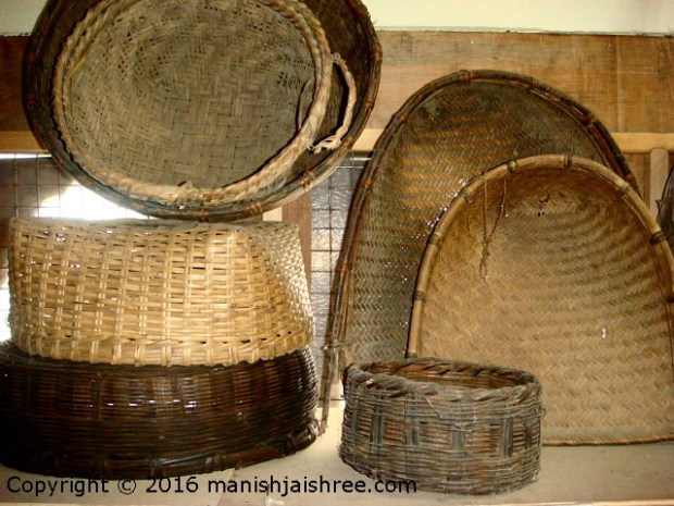 Traditional baskets, tribal heritage museum, Munsiyari