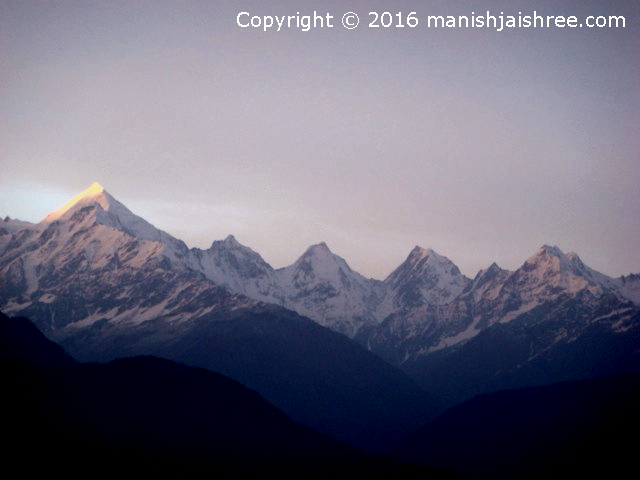 The Panchachulli Peaks, Munsiyari