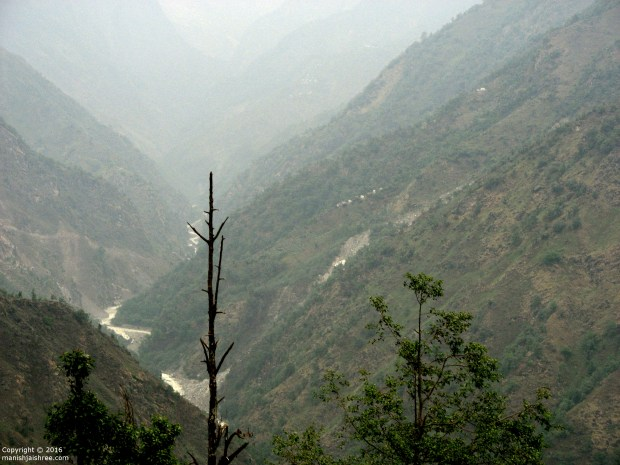 Gori Ganga on the way to Munsyari